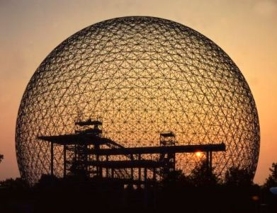 Biosphere, Montreal, Buckminster Fuller