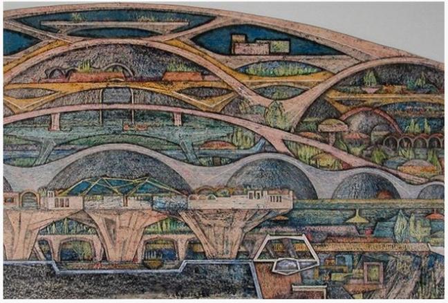 arcosenti - arcologie - paolo soleri