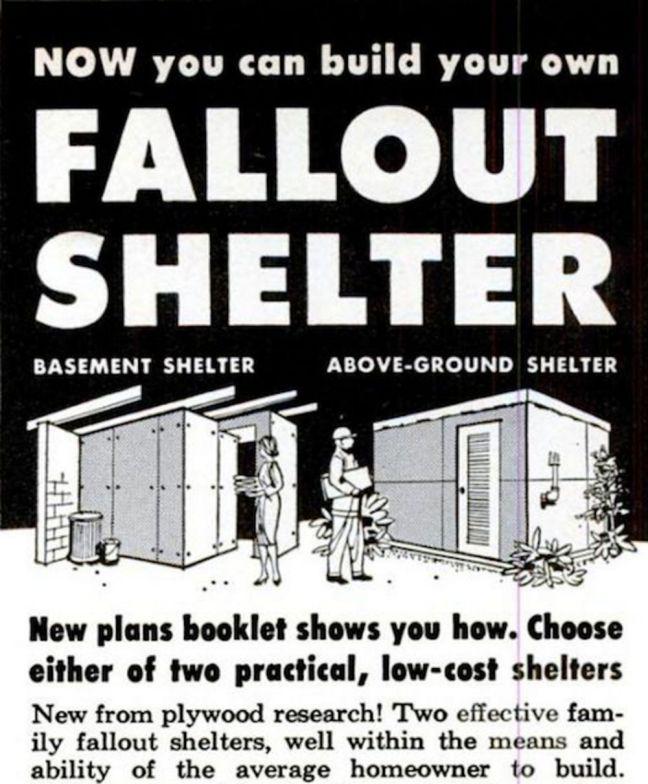 DIY Radiation Shelter January, 1962