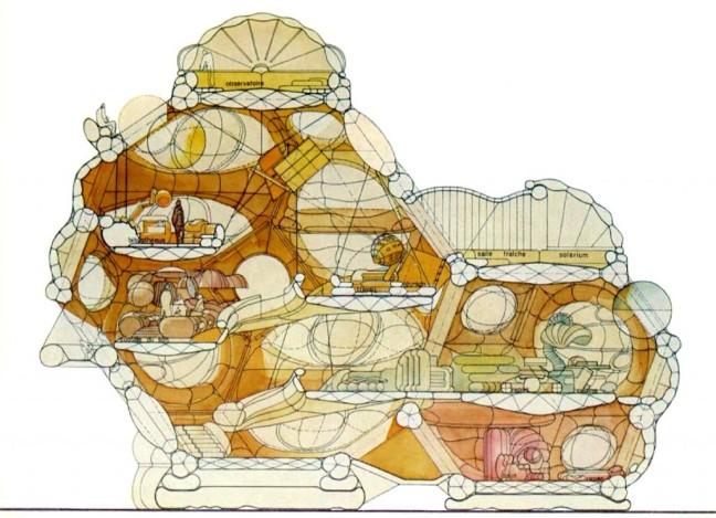 jean Paul Jungmann -Dyodon - Habitation pneumatique expérimentale 1967