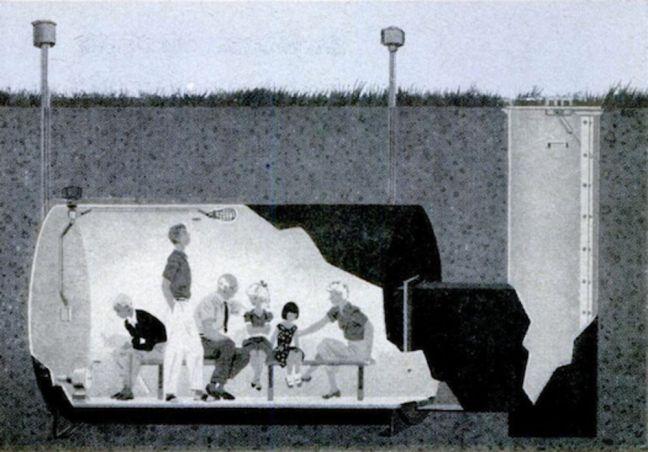 Steel Tank Shelter February, 1960